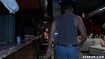 Dancing bear is here and cock hungry girls suck his dick porn videos
