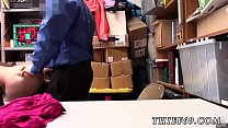 del seduces teen first time apparel theft