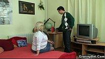 Busty granny tastes yummy cock, 12 year girl sex utbushka sexian girls 1st time blood sex Video Screenshot Preview