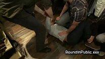 bondage in fucked orgy guy Bodybuilder