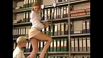 short dress girl get fucked in the library xemp...