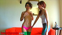 Lizzy And Bailey Humiliation FOOT FETISH TEEN F...