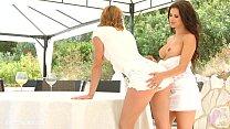 Victoria Daniels with Billie Star having lesbia...