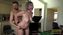 Brit petite subslut dommed and fed with cum by ...