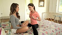 Kristen Scot t makes Kimmy Granger curious   Girlsway