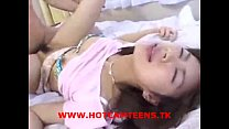 Hot Japanese Teen Gets A Dose Of Cum - HotCamTe...