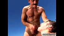 amber rayne s outdoor anal sex with old pervert