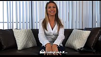 audition at table the on fucked caliente carmen teen - castingcouch-x hd caliente