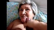 velha da cara na Gozou
