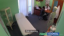 FakeHospital Gorgeous pole dancer with hot body swallows the doctors medicine porn videos