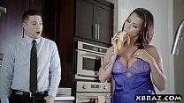 Dreamy busty wife Peta Jensen cheats on her hus...