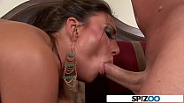 Tiffany Brookes get her mouth and pussy fucked ...