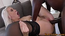 Blonde pounded by bbc