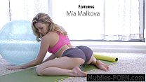 Nubiles-Porn Mia Malkovas Yoga Fuck - FULL VIDEO