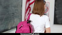 InnocentHigh - Naughty New Student Gets Banged