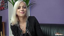 Ria Sunn gets her pussy banged in model casting...