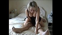 mommy gives her boy a great ride)