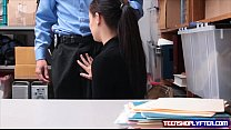 Teen shoplyfter Bobby Dylan is rewarded with cu... thumb