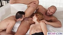 Wife shares a dick with her hubby