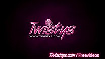 Twistys - Two teens show off their perfect pussys