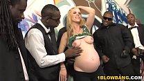 Pregnant Hydii May BBC Interracial Gangbang