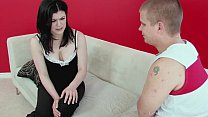Beautiful black haired babe gets nicely penetrated porn videos