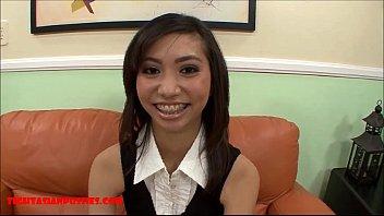 super skinny tiny asian gets huge big think lon... | Video Make Love
