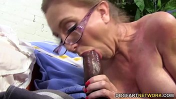 Hot cougar Jenna Covelli takes two BBC's   Video Make Love