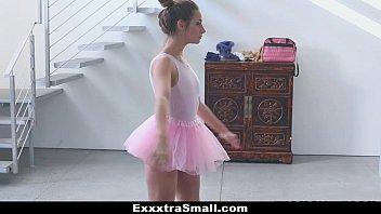 Exxxtrasmall tiny ballerina fucking her instructor!