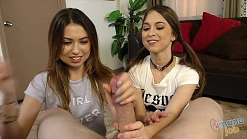 Riley reid and melissa moore tugjob rivalry!