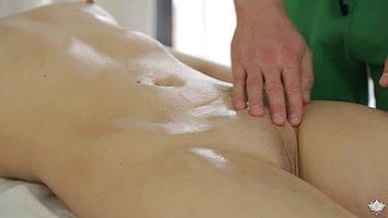 Milana fox has sex xxx on massage table fantasymassage
