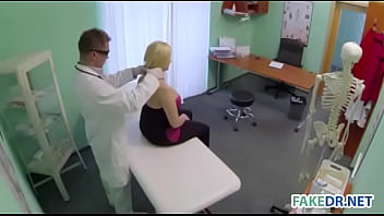 Busty patient gets fucked in the hosiptal