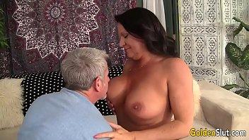 Grandma takes fat dick | Video Make Love