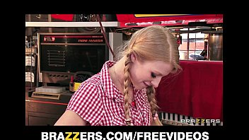Horny blonde teen loves to have her pigtails pu... | Video Make Love