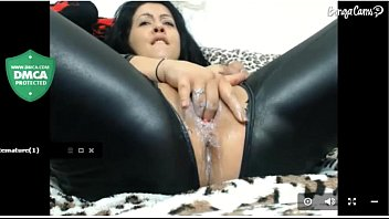 Webcam - chicas maduras y corrida femenina latex