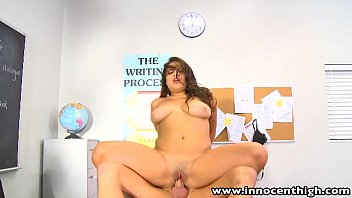 Innocenthigh big tits brunette schoolgirl rikky nix classroom fucking Thumb20