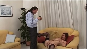 Busty MILF shows off her love for cock