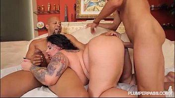 Bbw erika xtasy double penetratedby 2 monster cocks