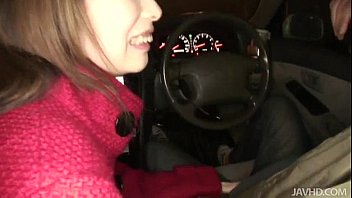 Horny Rinka steams up the windows in a car suck...   Video Make Love