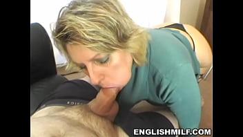Pov blowjob british milf
