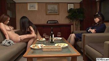 【羞恥レズ】女囚2人が女所長にレズビアンショーを披露させられることに…