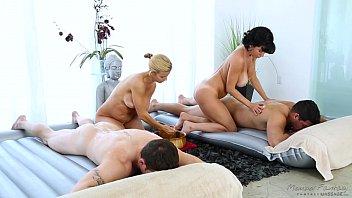 Foursome massage veronica avluv, alexis fawx