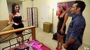 Swinger couples swapping their partners in reality
