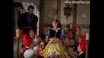 白雪姫と7本の肉棒、ぱっくりひらきっぱなし