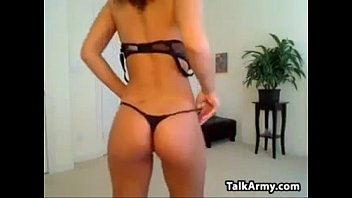 Busty Babe Does A Striptease...