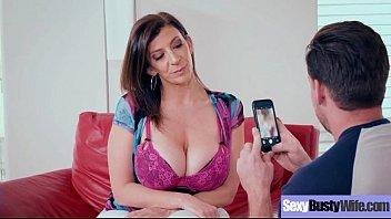 Hard style sex action on cam wtih slut busty wife (sara jay) vid-24