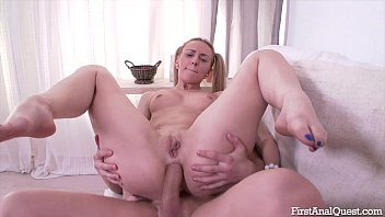 Hardcore anal sex action featuring lusty olivia...