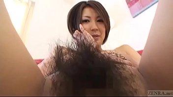 お姉さんのアナルまで剛毛なマ〇コ撮影 日本人動画の画像