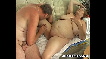 Chubby mature amateur wife sucks and fucks   Video Make Love