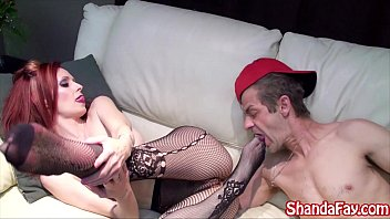 Kinky canadian milf gets fucked and her feet licked!